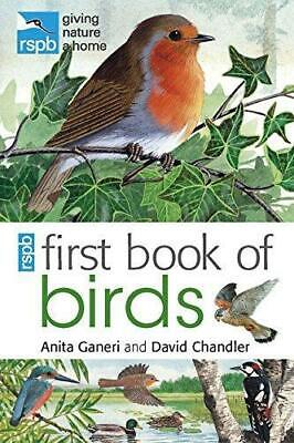 RSPB First Book of Birds, Very Good Condition Book, Unwin, Mike, Chandler, David