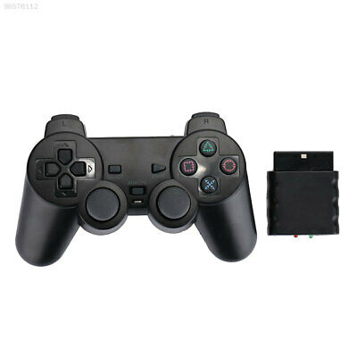 Wireless Dual Vibration Game Controller Joy-con For PS2 Playstation2 PC 9A9F