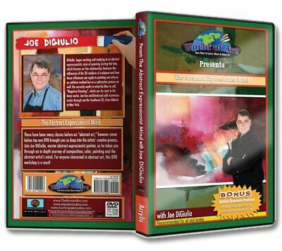 """Joe DiGiulio - Video Art Lessons """"The Abstract Expressionist Mind"""" DVD"""