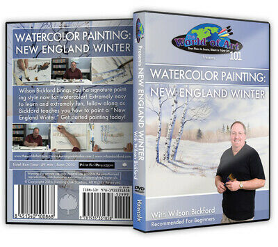 """Wilson Bickford - Video Art Lessons """"Floral"""" DVD"""