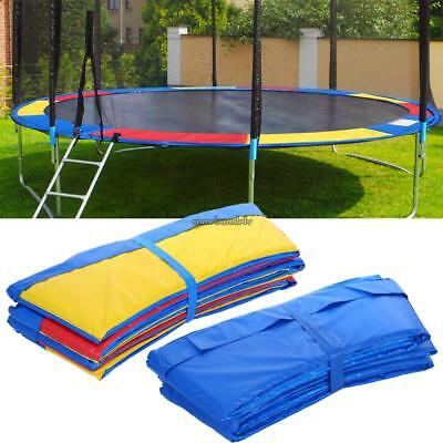 10/12/14/15ft Trampoline Replacement Safety Pad Frame Spring Cover Pad Portable