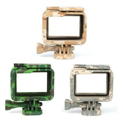SHOOT Protective Case for GoPro Hero 6 5 7 Camouflage Action Camera Border Frame