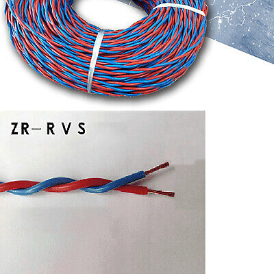 Twisted Electric Cable Wire Home Lighting 0.5~2.5mm² 2 Core Copper Per Meter