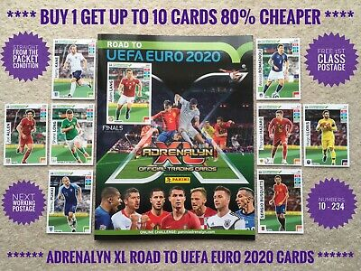 Panini Adrenalyn XL Road to UEFA Euro 2020 Cards, Team Mate, Buy 2 Get 10 Free