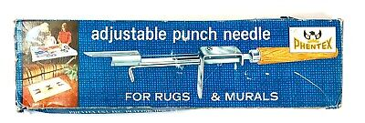 Phentex Vintage Adjustable Punch Needle for Rugs & Murals - 1970's