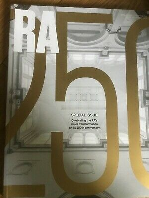 RA 250 Royal Academy of Arts magazine. Special Issue 250th anniversary