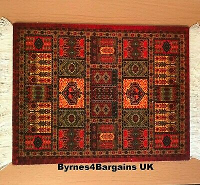 Persian rug style mouse mat mouse pad 18 x 23 cm non slip UK SELLER #D40