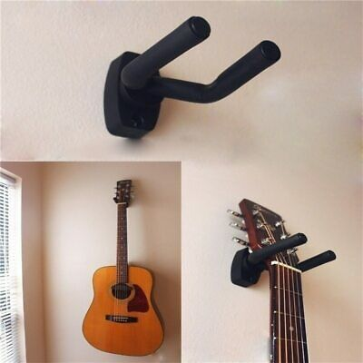 Guitar Hanger Hook Holder Wall Mount Stand Rack Bracket Display Guitar Bass