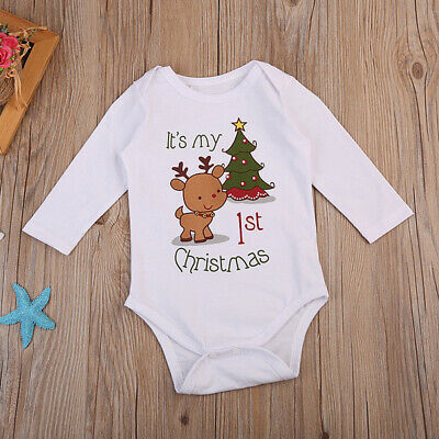 Kids Newborn Baby Girl Floral Romper One Pieces Jumpsuit Outfit 0-24M