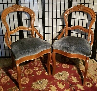 Beautiful Pair of Victorian Parlor Chairs