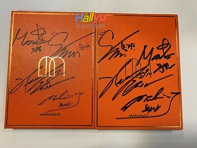 "Mamamoo ""Melting"" 1st Mini  - Autographed (Signed) Promo Album"