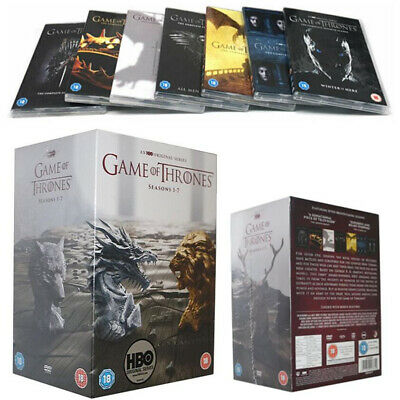 Complete Series 1 2 3 4 5 6 7 NEW DVD GAME OF THRONES Season 1-7 Box Set
