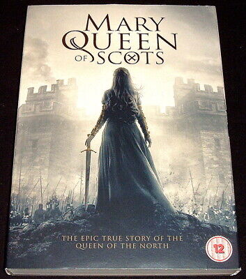 Mary Queen Of Scots..r2 Dvd Ex 2019 Camille Rutherford + Slipcase Watched Once