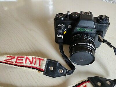 ZENIT 21 XS MADE IN USSR / FOTOCAMERA REFLEX / 1,8/50 77M-4 M52x0,75 MC