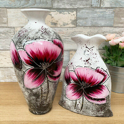 Pink Ceramic Modern Wedding Display Table Decorative Lily Flower Floral Vases