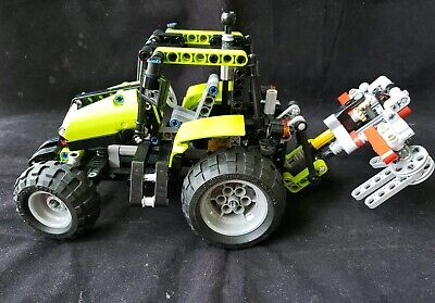 Lego Technic Tractor 9393 2 In1 99 Complete Retired Set 3595