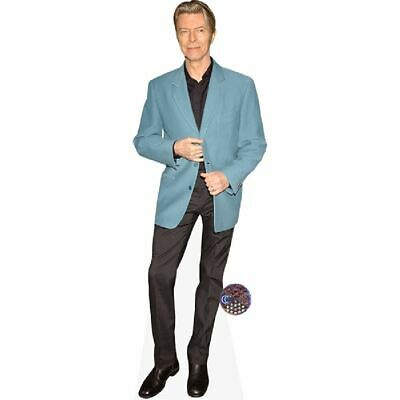 David Bowie (Blue Jacket) Recorde de carton (tamano natural)