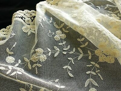 Romantic Antique Princess Lace Table Runner 16x36""