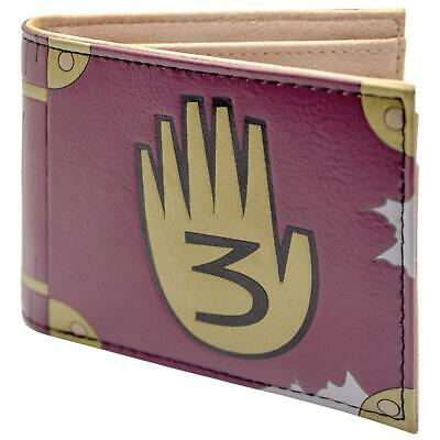 Official Disney Gravity Falls Journal 3 Brown Id & Card Wallet *SECOND*