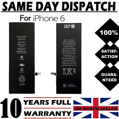 NEW Genuine Replacement Battery for iPhone 6 6G 1810mAh 100% Full Capacity