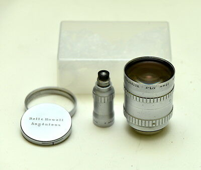 Angenieux 10mm f1.8 Retro-focus C-mount 16mm Wide Angle Lens