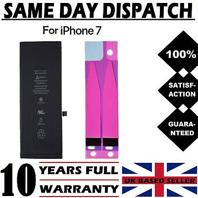 100% NEW  iPhone 7 Battery+TAPE Replacement 1960 mAh UK FREE Delivery