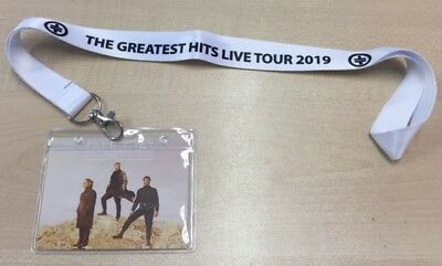2019 Take That Greatest Hits Tour Lanyard Available In White With Tours Dates