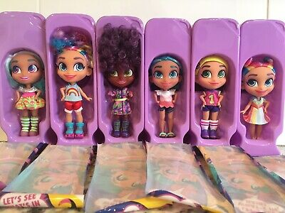 HAIRDORABLES DOLLS lot, NEW never played removed from box 6 DOLLS TOTAL