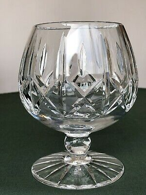 Large Brandy Glass- Very Heavy Full Lead Crystal Excellent Condition