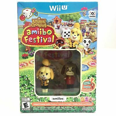 Animal Crossing: Amiibo Festival Bundle Wii U [Brand New] - Ships from Toronto!