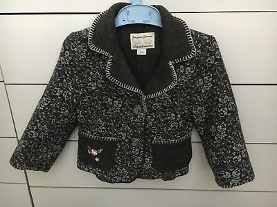 """Baby Girl Jacket For 104 (2-3y) By Wojcik Sleeve 34cm Or 13,5 """" Pit To Pit12.5"""""""