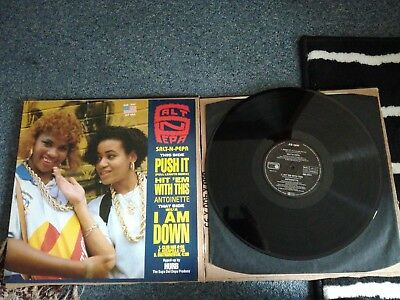 "Salt N Pepa - Push It - 12"" 5trk German Maxi Vgc+/ex.con 1987"