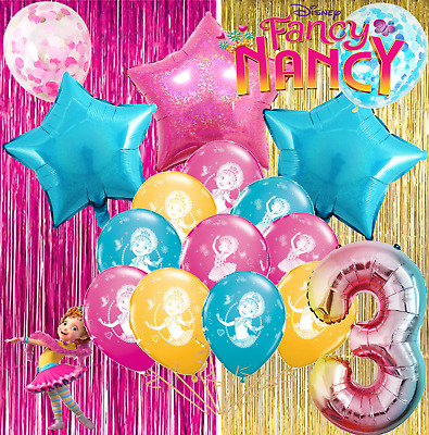 Miraculous Fancy Nancy Balloons Cupcake Cake Toppers Decoration Supplies Funny Birthday Cards Online Barepcheapnameinfo