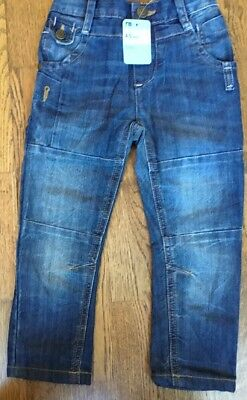 Mothercare Age 4-5 Yrs Boys Denim Jeans ** Bnwt **