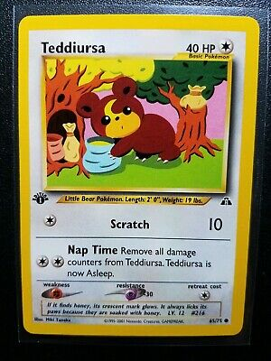 Pupitar Uncommon Pokemon Card Neo Discovery 45//75 NM