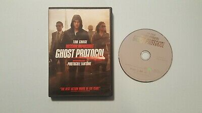 Mission: Impossible - Ghost Protocol (DVD, 2012, Widescreen)