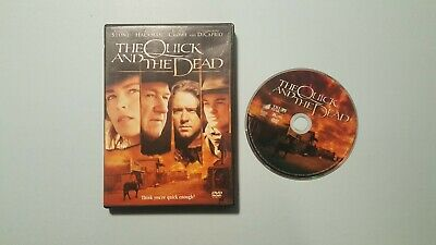 The Quick and the Dead (DVD, 1998, Widescreen, Closed Caption)