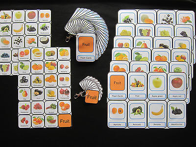 Everyday Fruit Visual Cards  Autism/ADHD/PECS/Non verbal/Visual Aid/Dementia/SEN