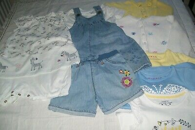 Baby girl clothes bundle Nutmeg & F&F  12-18m -combined postage available
