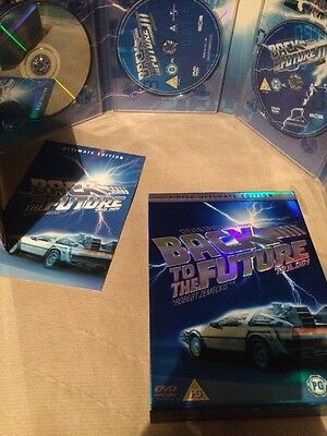 Back To The Future Trilogy (DVD, 2005) Ultimate Edition