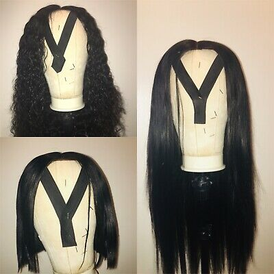Wig Making Service UK Closure Wig - Includes Free Consultation And Elastic Band