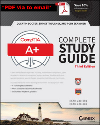 Comptia A+ Complete Study Guide Exams 220-901 and 220-902 PDf fast dellivery