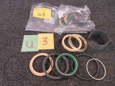 2 Cnh Rod Buffer Seals Case Excavator Daimler Cylinder Military Truck Equipment