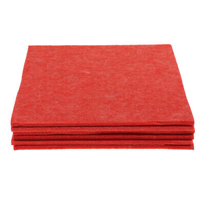 6pcs Soundproofing Acoustic Panels for Studio Room Acoustic Treatment Red