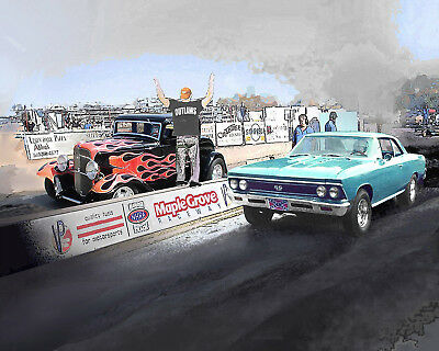 Put YOUR RIDE at a Street Outlaws Drag Race Venue