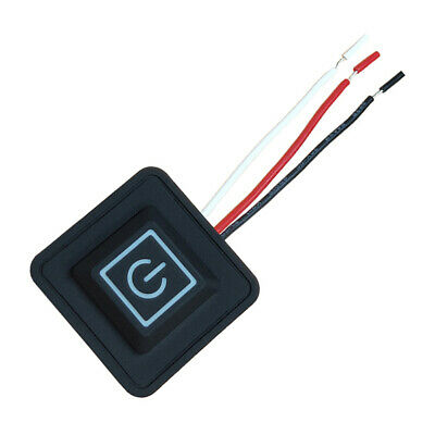 5V-15V 3 Gear Temp Control Waterproof Heating Switch Clothes Silicone Button