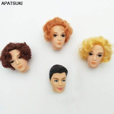 1/6 Doll Accessories Doll Heads For Ken Men Boyfriend Prince Ken Male Doll Heads
