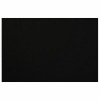 10X Quill 1000gsm Presentation Board 420 x 590mm Black Pack of 10 Brand new