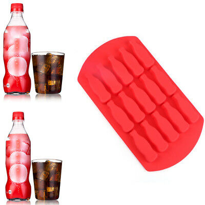 Silicone Cola Bottle Ice Maker Mold Ball Cube Trays Mini Bar Whiskey Candy  Tool