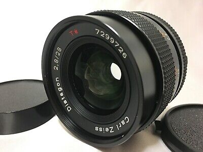 【Excellent+++++】Contax Carl Zeiss Distagon 28mm f/2.8 T* MMJ Lens From Japan 686